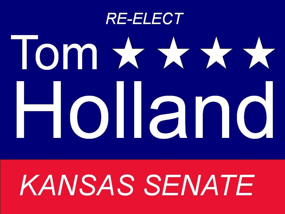 Tom Holland For Kansas